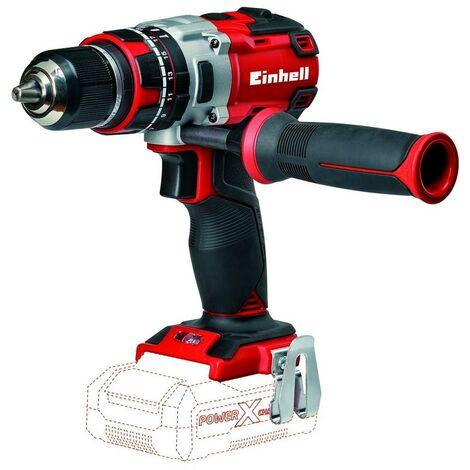 EINHELL 4513860 - Taladro percutor a bateria Brushless 18 V, 2 velocidades, 60 Nm solo maquina TE CD 18 Li