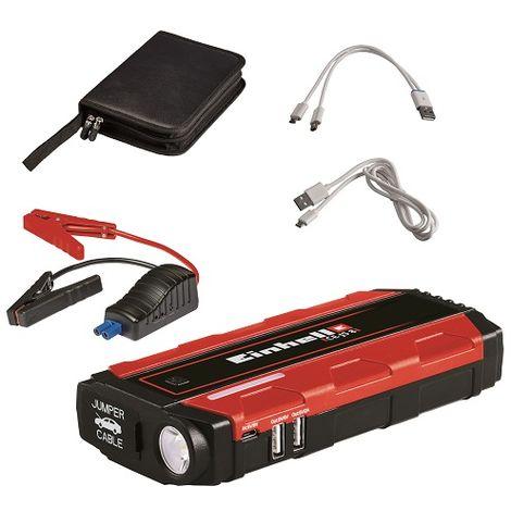 Avviatore Emergenza Portatile.Einhell Avviatore Di Emergenza Caricabatterie Portatile Ce Js 8 1091511