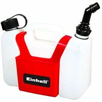 Einhell Bidon d'essence pour mélange 2 temps (3 litres d'essence et 1,25l d'huile)