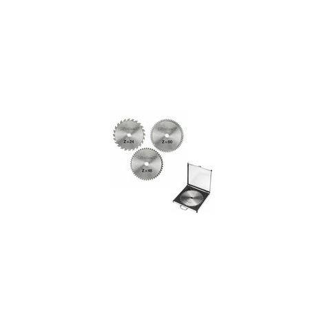 Einhell Coffret de 3 lames de scie HM 250 x 30 x 3,0 mm