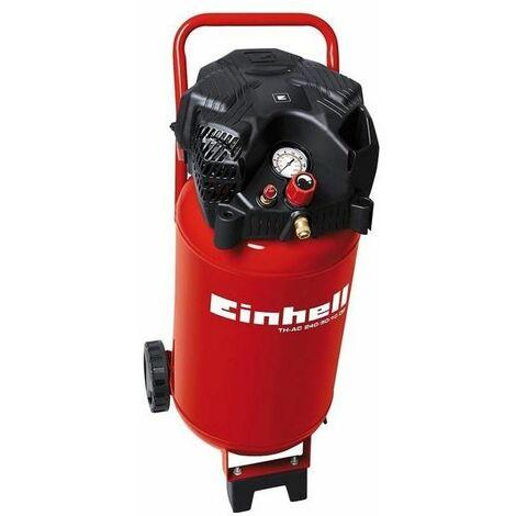 Einhell Compressore Monocilindrico Con Serbatoi Verticale 30 Lt Th-Ac 200/30 8 Bar