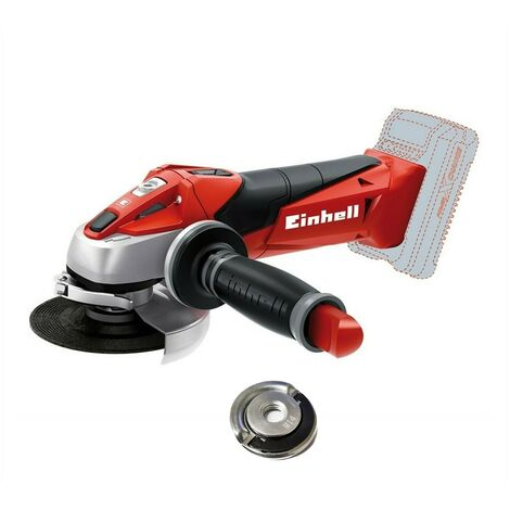 Einhell Cordless Angle Grinder 115mm 18v EINTEAG18LI With Flange Nut BARE UNIT