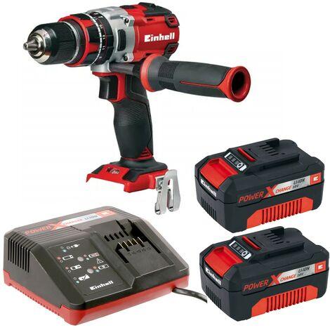 Einhell Cordless Brushless Combi Drill Power X Change 18v TE-CD 18Li-I BL X2 3AH