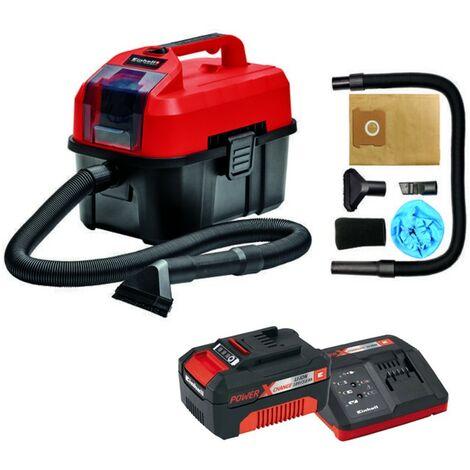 Einhell Cordless Wet Dry Vacuum Cleaner 10L TE-VC 18/10 Li 2347160 + 3AH Battery