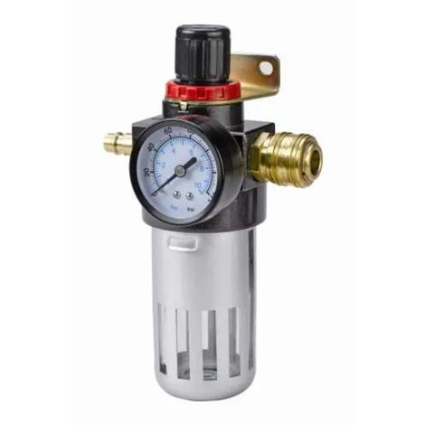 """Einhell Filter/Druckminderer R 1/4"""" für Luftkompressor"""