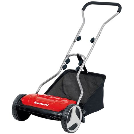 """main image of """"Einhell Hand Push Lawn Mower GE-HM 38 S-F - Red"""""""