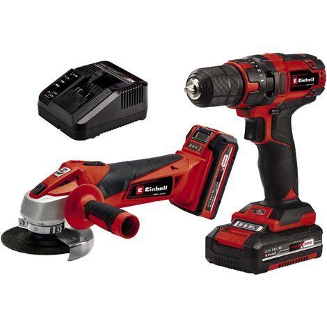 Einhell Kit d'outils électroportatifs TC-TK 18, 18V, 1,5Ah, 3Ah - 4257238