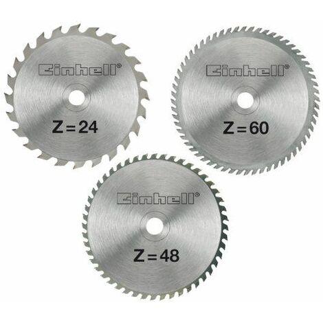 Einhell Lame de scie HM 3 pièces 210 x 30 x 2,5 mm