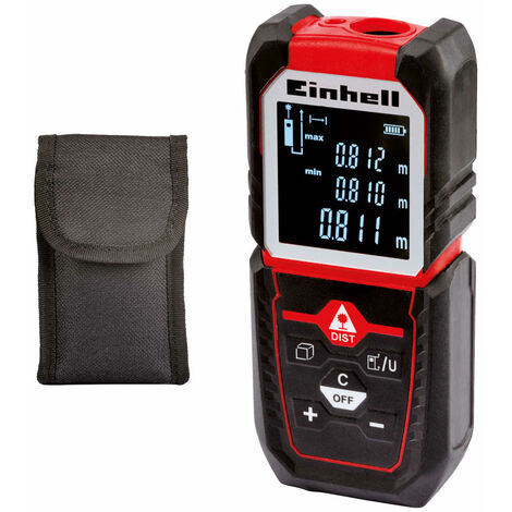 Einhell Laser Distance Measurer TC-LD 50 Red 2270080
