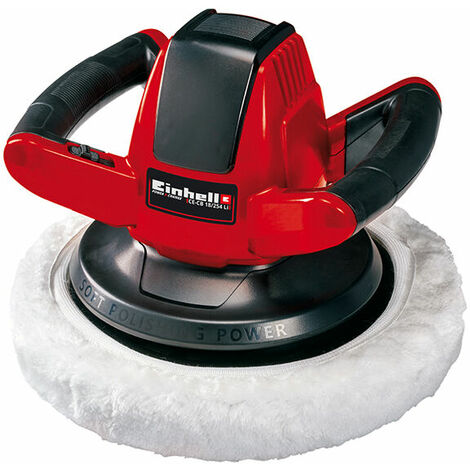 Einhell Li Solo Cordless Car Polisher 18V Bare Unit