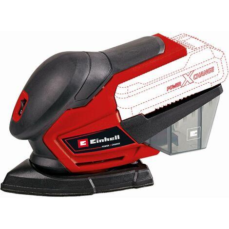 Einhell Multi Ponceuse sans fil TE-OS 18/150 Li Solo, sans batterie et chargeur - 4460708