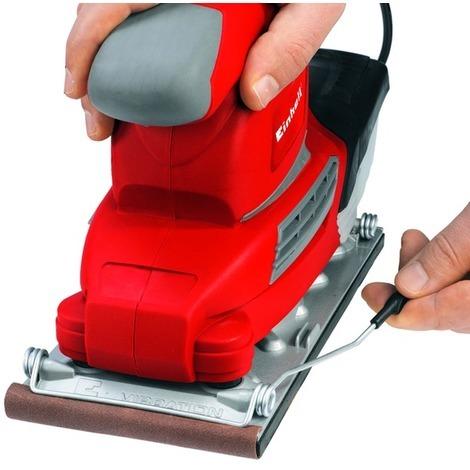Beneficios del sistema antivibración y de una buena fijación del abrasivo, lijadoras