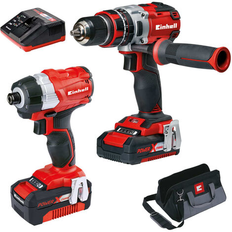 """main image of """"Einhell Power Tool Kit 18V Twin Pack BL"""""""