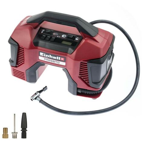 Einhell Pressito Hybrid Compressor, 6 in 1, without Battery and Charger