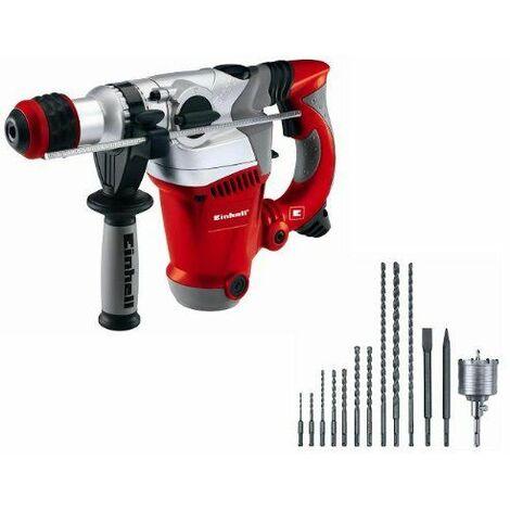 Einhell RT-RH 32 Kit Marteau perforateur Rouge