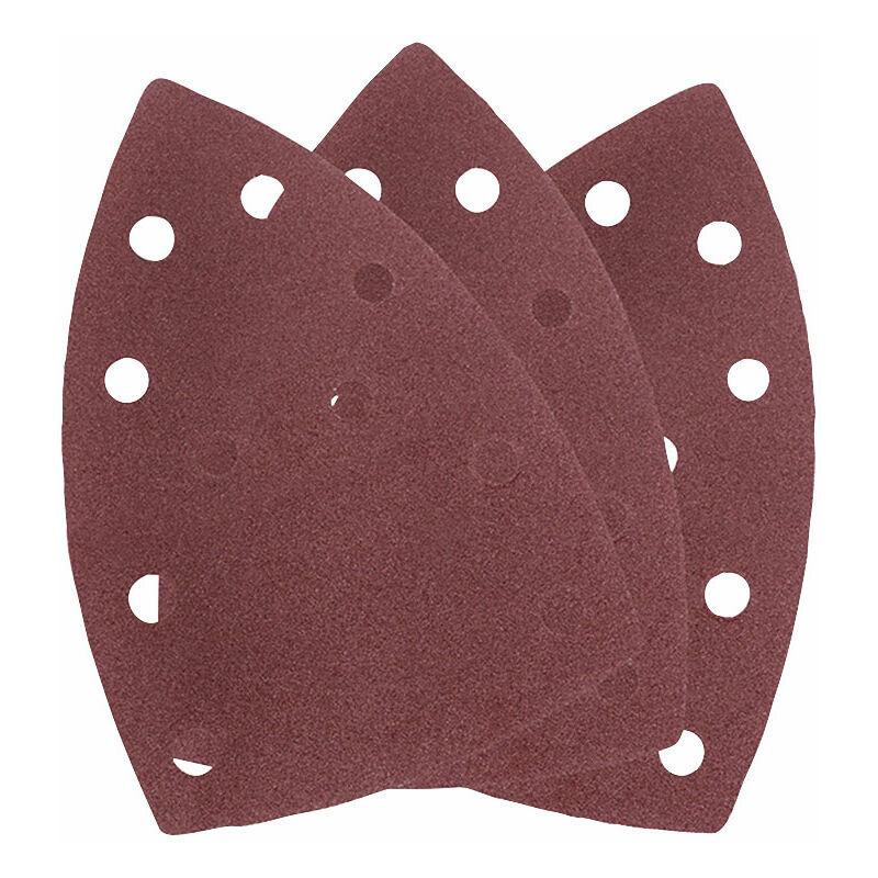 Image of 49496106 Sanding Sheets Coarse/Medium 60G (Pack 5) - Einhell