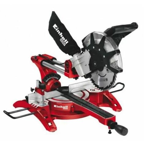 Einhell scie à onglet radiale 2350W TH-SM 2534 DUAL