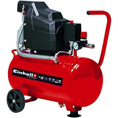 Einhell TC-AC 190/24/8 - Compressore aria con motore 2HP, 24 lt