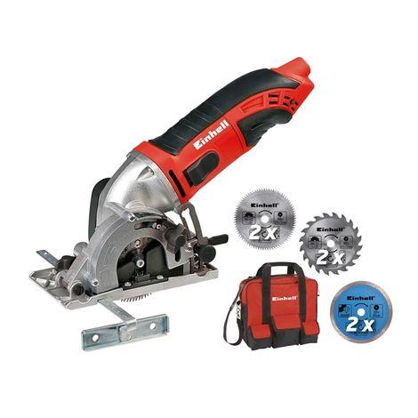 Einhell TC-CS 860/2 Mini Circular Saw Kit 450 Watt 240 Volt