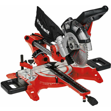Einhell TC-SM 2131/1 210mm Dual Sliding Mitre Saw 1500W 240V