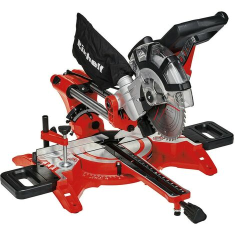 Einhell TC-SM2131 240v 210mm Double Bevel Crosscut Mitre Saw With Laser