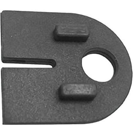 Einlagen zu Glasklemmbeschlag Modell 22