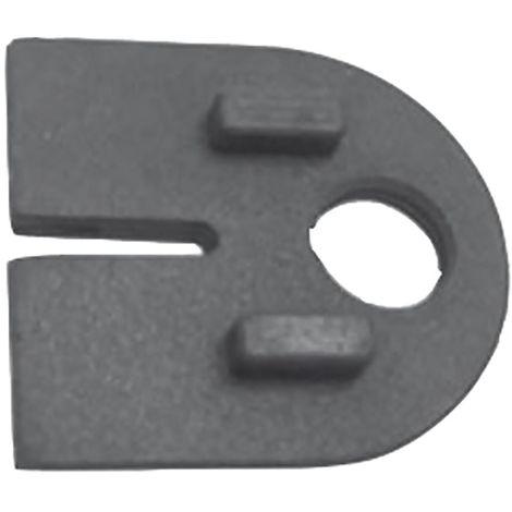 Einlagen zu Glasklemmbeschlag Modell 25