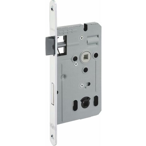 Einstemmschloss ergo WC, DM 55, Stahl verzinkt silberfärbig