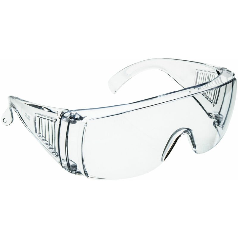 Image of Clear Vented Safety Glasses - Eisco