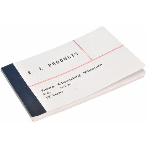 Eisco Lens Tissue Paper Pack 100