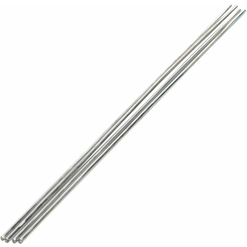 Image of PH0397C - Thermal Conductivity Rods - Aluminium - 300mm x 3mm - Pack of 10 - Eisco