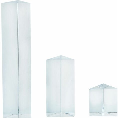 Eisco PH0554SET - Equilateral Acrylic Prisms- Set of 3