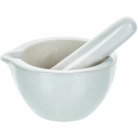 Eisco Porcelain Mortar & Pestle 60ml