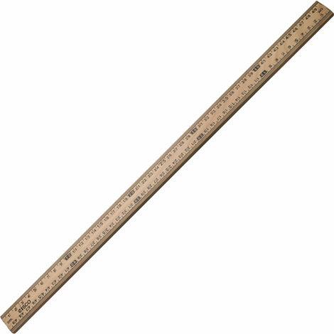 Eisco Wooden Half Metre Stick Ruler (Single)