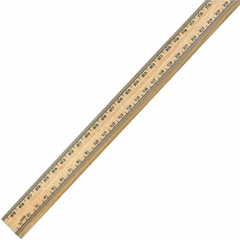 Image of Eisco Wooden Metre Stick Ruler (Single)