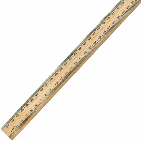 Eisco Wooden Metre Stick Ruler (Single)