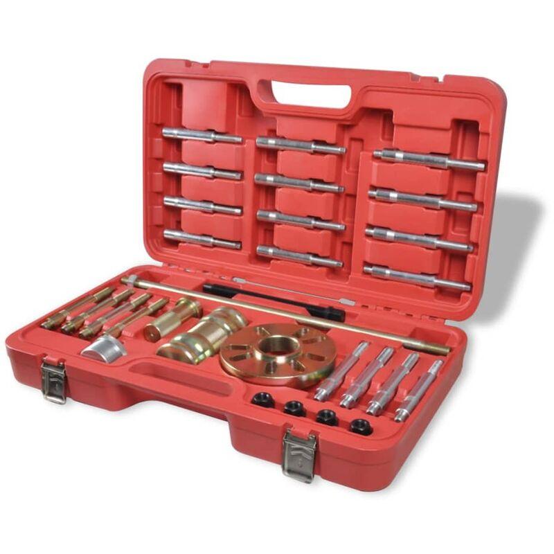 Vidaxl - Eje de rueda Juego de extractores 30 piezas