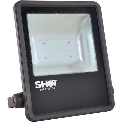 EKARIBU.LIGHT ALF-DAL-100-4000-10500-110 - Proyector LED para exteriores IP65, Potencia 100W (10500 lúmenes). Garantía de 5 años