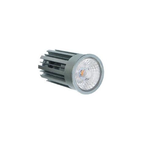 EKARIBU.LIGHT ALF-MOD-12.5-3000-1000-38 - Módulo de LED retrofit, foco diámetro 50 mm, Potencia 12.5W (1000 lúmenes), Luz cálida (3000 ° K), Haz 38 ° Fuente de alimentación regulable incluida. Garantía de 3 años (30000 horas)
