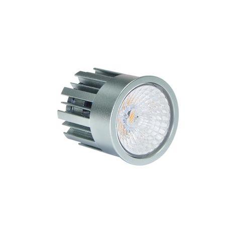 EKARIBU.LIGHT ALF-MOD-8.5-3000-600-24 - Módulo de LED retrofit, foco diámetro 50 mm, Potencia 8.5W (600 lúmenes), Luz cálida (3000 ° K), Haz 24 ° Fuente de alimentación regulable incluida. Garantía de 3 años (30000 horas)