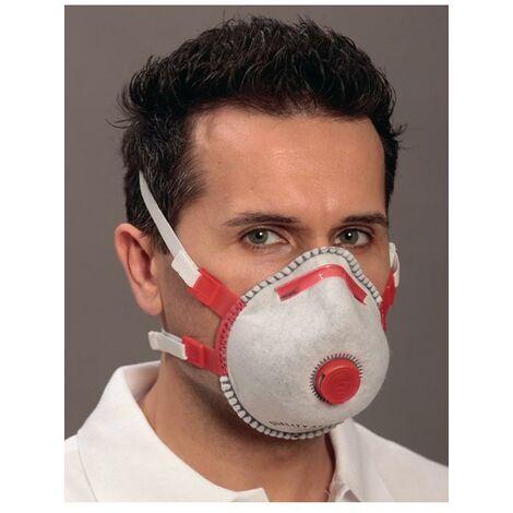 EKASTU Atemschutzmaske Atemschutzmaske Mandil FFP3/Combi/V FFP3 / V NR mit Ausatemventil