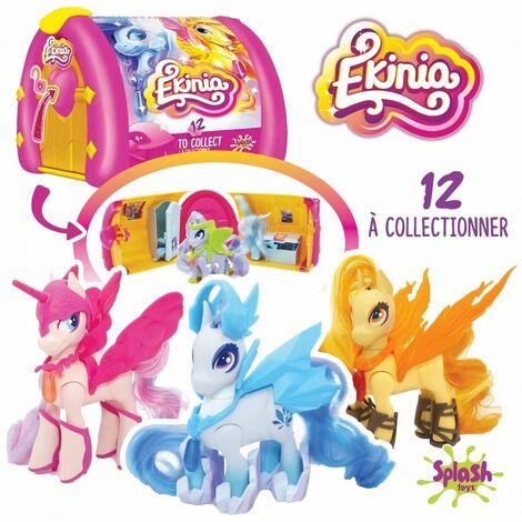 Ekinia - 1 box et un cheval a collectionner