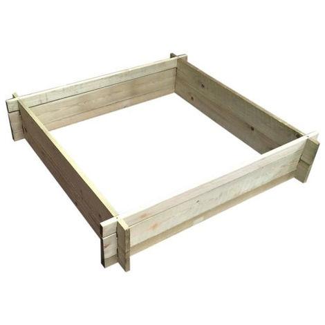 Tables Potager JardinTerrasse Sapin Carre En X H Cm 20 80 lF1KcJ