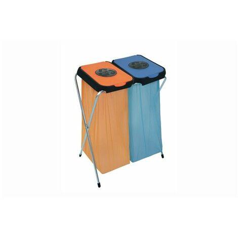 Eko-Thinks 2 supports sac poubelle - 63 x 90 cm - Couleur aléatoire - Livraison gratuite