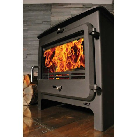 Ekol Clarity 12kW Wood Burning - Multifuel DEFRA Approved Stove