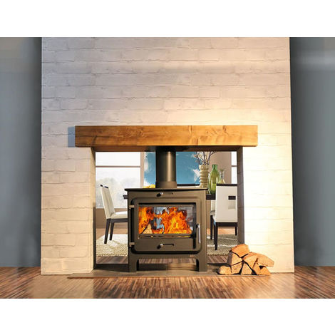 Ekol Clarity DS 14kW Wood Burning - Multi Fuel DEFRA Approved Stove