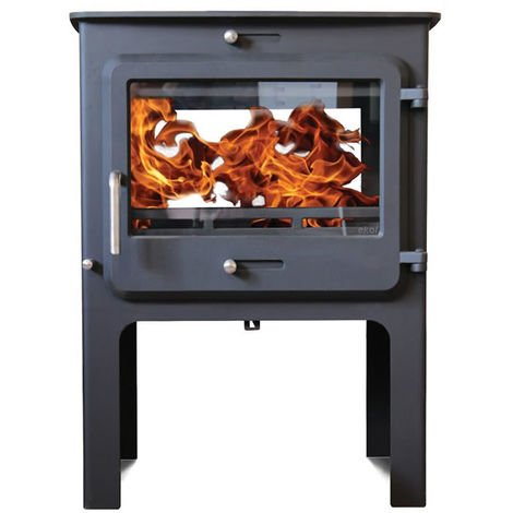 Ekol Clarity DS High 14kW Wood Burning - Multi Fuel DEFRA Approved Stove