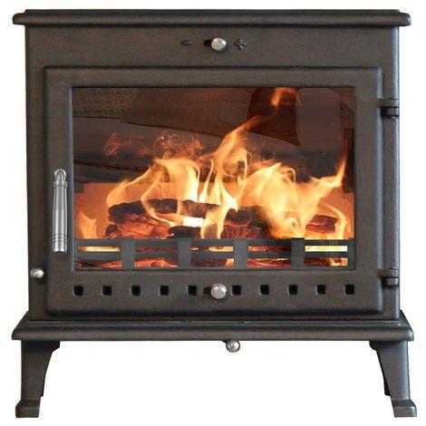 Ekol Crystal 12kW Wood Burning - Multi Fuel DEFRA Approved Stove
