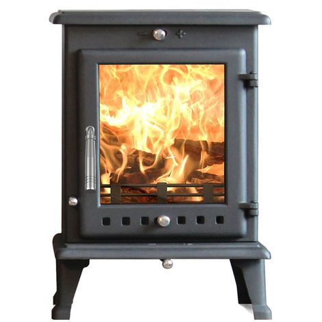 Ekol Crystal 8kW Wood Burning - Multi Fuel DEFRA Approved Stove