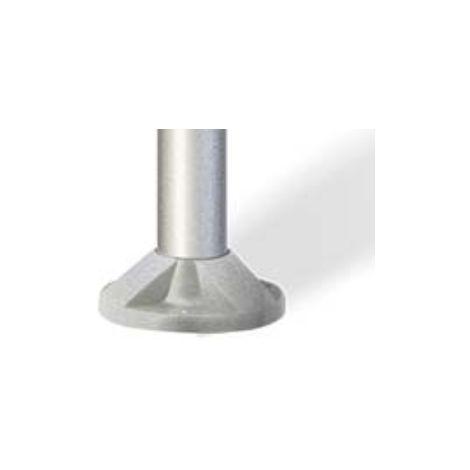 El basic Mareco MISTRAL-montaje de poste de diámetro 60 mm Gris 1480000G